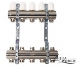 """Aqua-World Колектор ТГ001-02 1""""х2 без расходомеров"""
