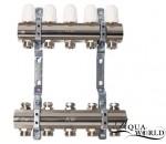"""Aqua-World Колектор ТГ001-02 1""""х2 без расходомеров белый"""