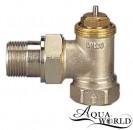 """Aqua-World Кран термостатический под термоголовку угловой 1/2"""""""