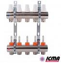 "ICMA Колектор К013 1""х4 вых."