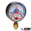 ICMA Термоманометр 258 0-4 атм.