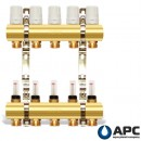 APC Коллектор двойной с расходомерами и креплением 4 вых.