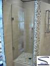 S mix распашная 2200 (стекло прозрачное бесцветное)