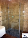 90-5 с распашной дверью 1800 (стекло матовое тонированное)