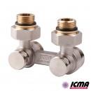 ICMA Вентиль двухтрубный для радиатора 884