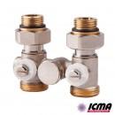 ICMA Вентиль однотрубный для радиатора 902