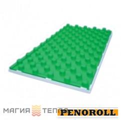 Penoroll Плита теплоизоляционная с фиксаторами под систему теплого пола