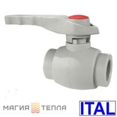 ITAL Кран шаровый 25 с пластиковым шаром