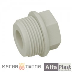 "Alfa-Plast Заглушка 20х1/2"" НР"