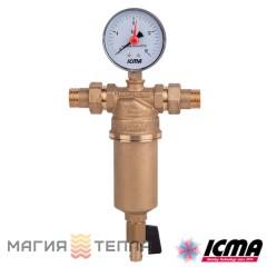 """ICMA Фильтр самопромывной 751 1/2"""""""