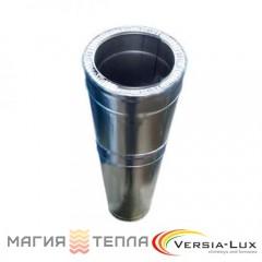 Версия-Люкс удлинитель L=0,5-1м н/оц 1мм ф125/200