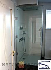 S mix с распашной дверью 1800 (стекло прозрачное тонированное)