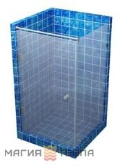 S mix с распашной дверью 1800 (стекло с матовым рисунком тонированное)