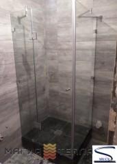 S mix 90-5 с распашной дверью 1800 (стекло прозрачное бесцветное)