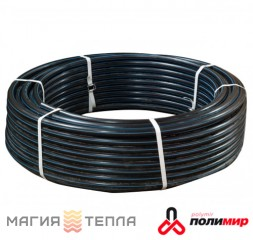 Полимир ПЕ80 d 75*5,6 (10атм) черная