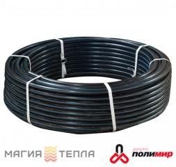 Полимир ПЕ80 d 20*1,8 (6атм) черная