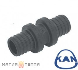 KAN-therm Соединитель двухсторонний PPSU Push 18×2,5/14×2