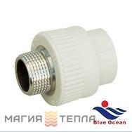 Blue Ocean Муфта 20*1/2 НР BO