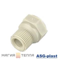 ASG-plast Заглушка 20*1/2 н