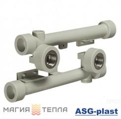 ASG-plast Настенный комплект 2х20х1/2 (двойное настенное колено)