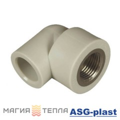 ASG-plast Колено 90° 20*1/2 ВР