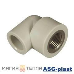 ASG-plast Колено 90° 25*3/4 ВР