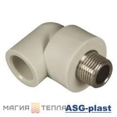 ASG-plast Колено 90° 20*1/2 НР