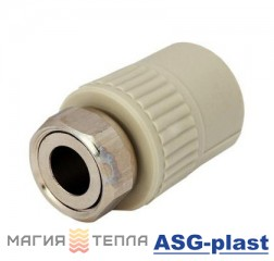 """ASG-plast Муфта РВ с НГ 20*3/4"""""""
