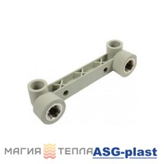 ASG-plast Колено двойное 90*ф20*1/2 ВР
