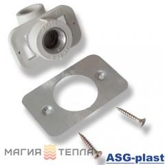 ASG-plast Колено настенное 20*1/2 для гипсокартона