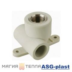 ASG-plast Тройник настенный 20 (сквозное настенное колено)