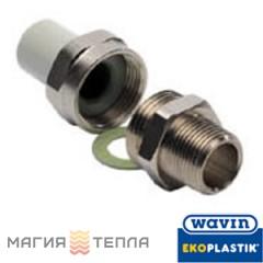 Wavin Ekoplastik  Резьбовое соединение наружное 25*3/4 ЕК