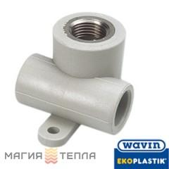 Wavin Ekoplastik  Тройник настенный с металлической резьбой внутренней 20*1/2 EK