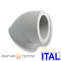 ITAL Колено PPR 75/45°