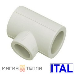 ITAL Тройник редукционный PPR 75/50/75