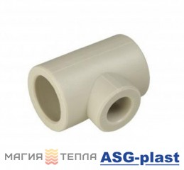 ASG-plast Тройник редукционный 50х40х50